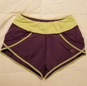 Moving Comfort running shorts